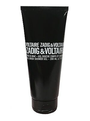 Zadig & Voltaire This is Him Shower Gel 200ml Tube