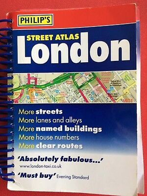 Philip's Street Atlas London by Octopus Publishing Group (Paperback, 2010)