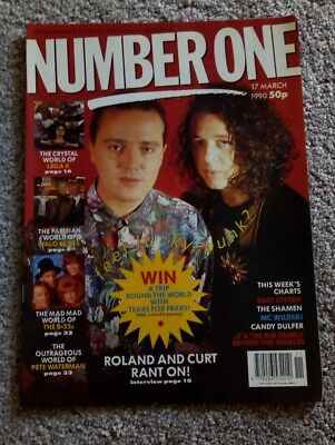 Number One pop magazine 1990, Tears For Fears,  B-52s, Leila K
