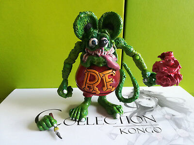 """Red RAT FINK Figure Big """"Daddy"""" Ed  Roth Gift Collection"""