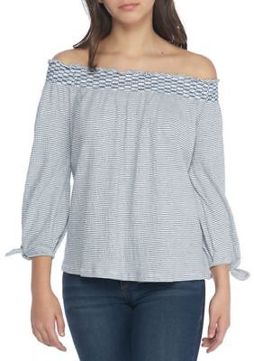afe355dec158f5 Jessica Simpson Top Marlena Off The Shoulder Blouse L   XL NWT Retail  59.50