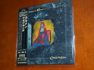 Carmen - Fandangos In Space Japan mini lp cd John Glascock Jethro Tull Toe Fat
