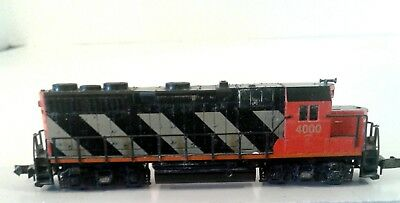 N scale canadian pacific locomotive