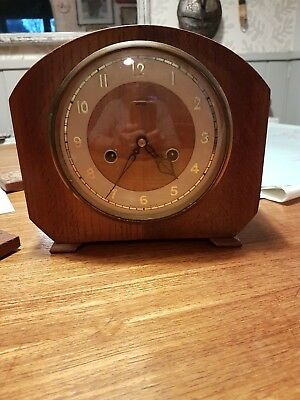 vintage Art Deco Chiming Smiths Enfield clock