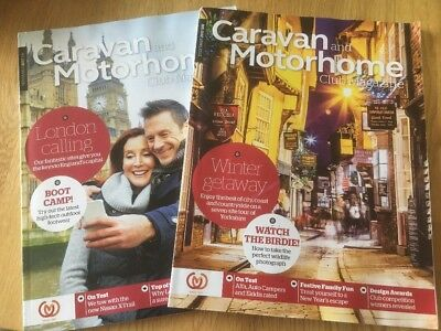 Caravan and Motorhome Club Magazine - November + December 2017 issue
