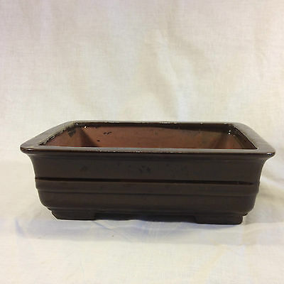 Chinese Bonsai Ceramic Rectangular Pot