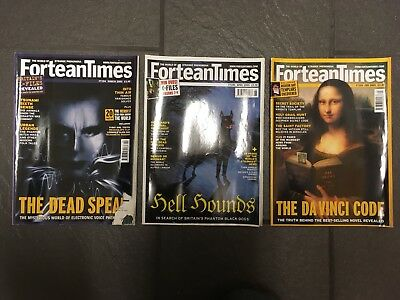 X3 Issues ForteanTimes FT193 Feb 2005, FT194 March 2005, FT195 April 2005,