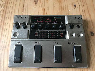 Korg G5 Synth Bass Processor Effects Pedal / Sehr selten!