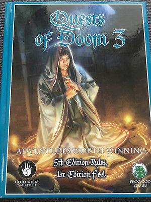 D&D 5. Edition - Quests of Doom 3 - Abenteuer / Modules