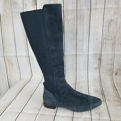 TORY BURCH Designer Boots Orsay Suede Knee High Boots Women Sz 9 M - MSRP $300