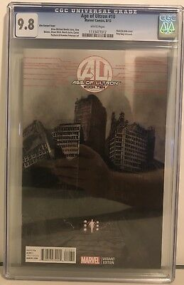 Age Of Ultron Issue #10 Rock-He Kim Variant Cover CGC 9.8 Marvel Comic Book