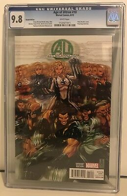Age Of Ultron Issue #10 Mark Brooks Variant Edition CGC 9.8 Marvel Comic Book