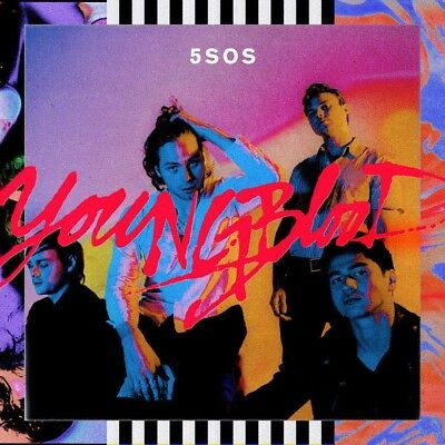 5 Seconds Of Summer (5SOS) - Youngblood (NEW CD ALBUM) Factory Sealed FAST SHIP