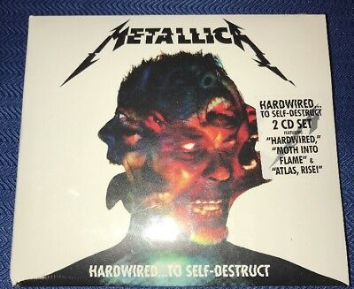 Metallica Hardwired To Self Destruct CD 2 Disc Set Brand New Sealed Music