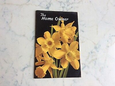Vintage The Home Owner Small Magazine Spring 1947