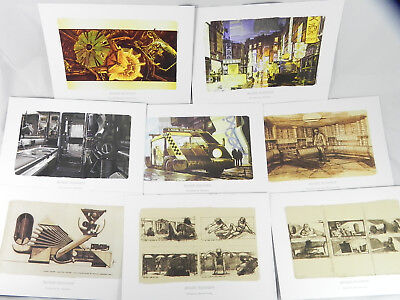 Ready to Frame Blade Runner Art Portfolio With Storyboards Syd Mead, Others