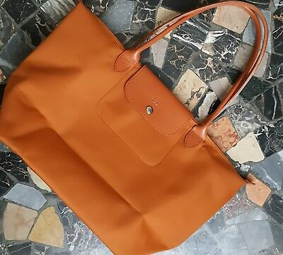 Longchamp Le Pliage Large (Orange)