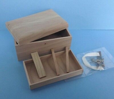 dollhouse miniature 1//12 scale CPT108 Lithograph Wooden Trunk Kit USA