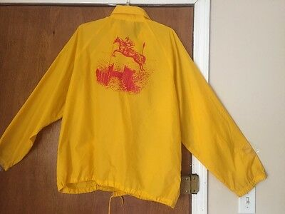 Vintage Ledyard Farm Horse Trials Windbreaker 1980's HAMILTON MA EVENTING JACKET