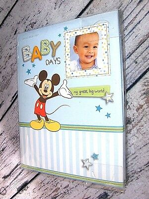 Disney Mickey Mouse Baby 1st 5 Years Memory Book NEW W/FREE Shipping