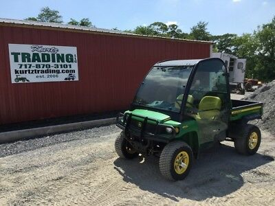 2008 John Deere XUV 850D Diesel 4x4 Utility Vehicle with Cab!