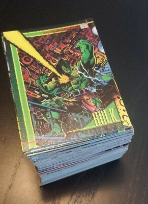 1993 Marvel Universe Series 4 (You U Pick 6) Series IV comic book trading cards