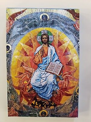 Christ Pantocrator, orthodox icon, Size 7 x 10, 10/16 inches