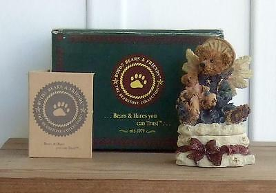 NOS Boyds Bears Angelica... The Guardian from The Bearstone Collection (TM)