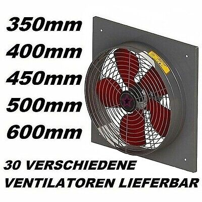 600mm Industrial Commercial Extractor Ventilation Axial Ventilator wall Fan 60cm