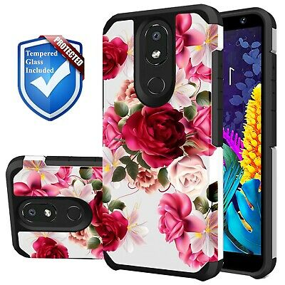 FOR LG K30 / LG Premier Pro LTE Case, Rubber Heavy Duty Protective Sturdy  Cover