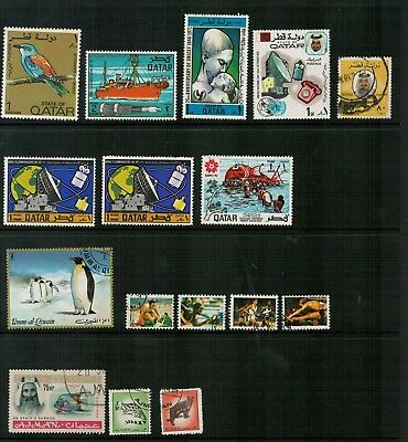 Lot 4965 - Middle East - Selection of 16 stamps from various years