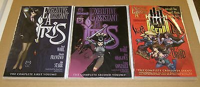 EXECUTIVE ASSISTANT Iris 1&2, The Hit List Agenda (Lotus/Orchid/Violet) TPBs NM