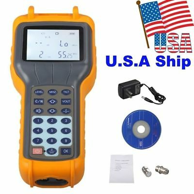 RY S110 RY-S110 CATV Cable TV Digital Signal Level Meter Equipment DB Tester