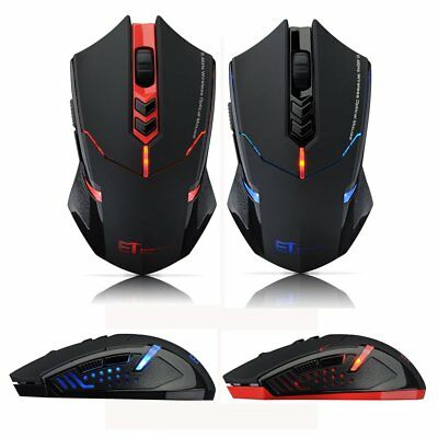 3d6d091f0ac 2400 DPI Computer 7 Button Wireless Gaming Mouse LED Optical Game Mice Free  Ship