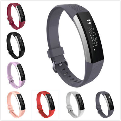 Replacement Silicone Wristband Wrist Band Strap Bracelets For Fitbit Alta HR 1Pc