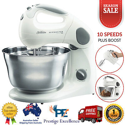 Sunbeam MixMaster Compact Pro Mixer Stand Handheld Dough Kitchen Food Beater NEW
