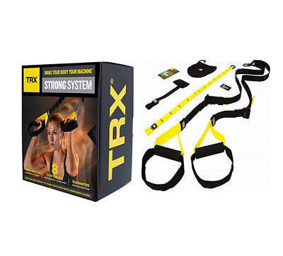 NEW TRX Strong System Suspension Training Body Trainer Fitness Bodyweight Gym