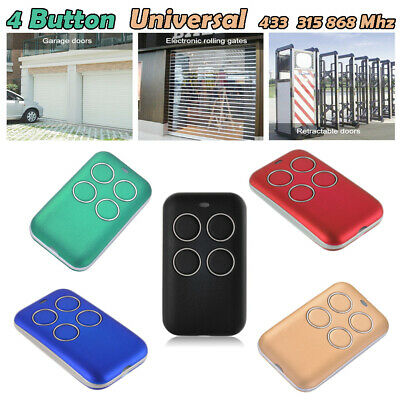 Fixed Rolling Code Garage Door Remote Control Duplicator Frequency 280-868MHz