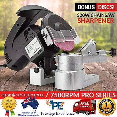 320W Chainsaw Sharpener Swarts Tools Chain Saw Electric Grinder Rigid Pro Wheels