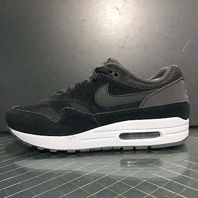 NIKE AIR MAX 1 AH8145 006 Black White Men's Running Shoes 90 95 360 zero