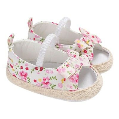 Baby Infant Kids Girl Soft Sole Crib Toddler Summer Princess Sandals Shoes Boots