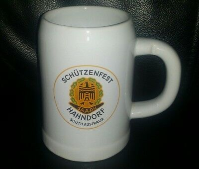 Rare Collectable Lowenbrau Schutzenfest Beer Mug Tankard In Great Used Condition