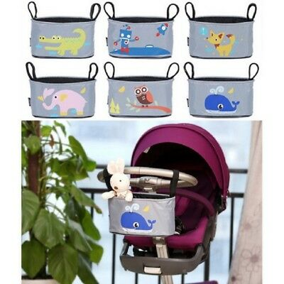1Pcs Baby Pram Organizer Bag with Cup Holder Jogger PUSHCHAIR STROLLER