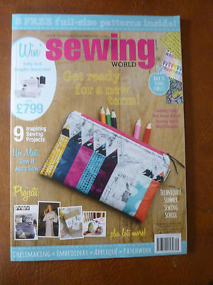 SEWING\' SEWING World Magazine complete with free pattern sheet Oct ...