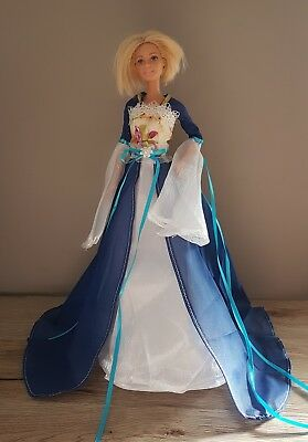 New barbie dress clothes outfit princess wedding gown dress boutique costume