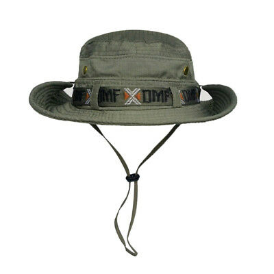 New Men Women Boonie Hat Fishing Cap UV Sun Protection Wide Brim Outdoor Cycling