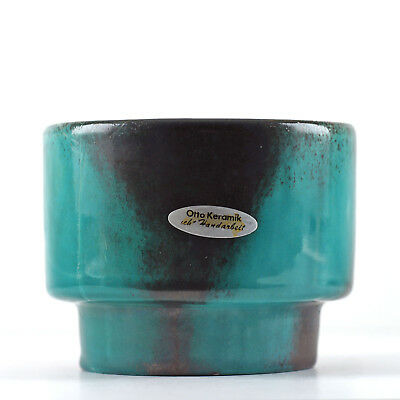 OTTO KERAMIK 60er 70er Jahre Vintage West German Pottery Planter Pot Blumentopf