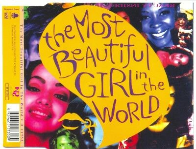PRINCE The Most Beautiful Girl In The World RARE AUSTRALIAN CD Single