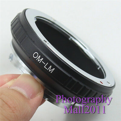 OM to LM Adapter for Olympus OM Lens to Leica L/M M6 M5 M9 M8 M7 TECHART LM-EA7