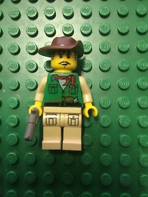 LEGO OMINO ADVENTURERS ORIENT EXPEDITION JOHNNY THUNDER Pistola MINIFIGURE VERDE